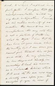 Letter to] [My Dear Garrison] [manuscript