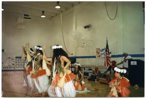 Hula Dancers Performing During 1994 Salute to Youth Award Program San Antonio Chapter of Links Records
