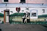"MLK Jr. mural, ""One God, One Aim, One Destiny,"" Warwick Avenue by North Avenue, Baltimore, 2001"