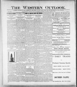 The Western Outlook. (San Francisco, Oakland and Los Angeles, Calif.), Vol. 21, No. 25, Ed. 1 Saturday, March 13, 1915 The Western Outlook