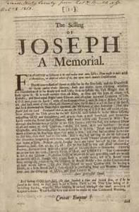 The Selling of Joseph: A Memorial