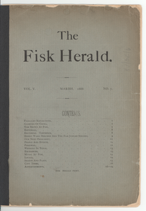 The Fisk herald vol. V, no. 7