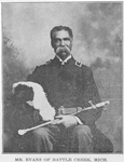 Mr. Evans of Battle Creek, Mich.; One of the richest colored men in Battle Creek; A barber and a Knights Templar