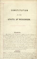 Rejected Constitution of the State of Wisconsin, 1846