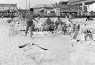 Group on beach, Atlantic City