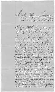 Affidavit of Richard Ashby in the Matter of Harrison Jackson, Fugitive Slave