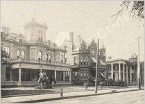 Capital City Club and Peachtree Street