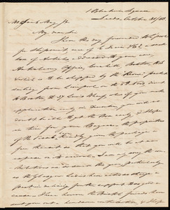 Letter from Joseph Lupton, Leeds, [England], to Samuel May, October 31 / 50