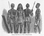 Group of Kidi Men on a Visit to King Kamrasi
