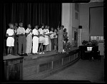 May 1947 Miss Duckett Monroe School [conductor] [cellulose acetate photonegative]