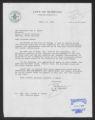 Letter: Mayor R. W. Grabarek to Gov. Dan K. Moore, April 18, 1968
