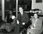 Gloria Naylor, Kenneth Hahn, and Linda Crismond