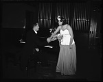 Ethel Wise [on stage with pianist : cellulose acetate photonegative]