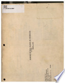 Directory of Negro colleges and universities, March, 1967