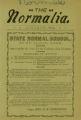 The Normalia, 1900-01
