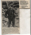 Newspaper clipping, Child coal miner