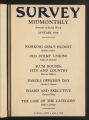The Survey Midmonthly, January, 1938.(Volume 74, Issue 1)