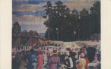 """'Negro Baptizing' by Kelly Fitzpatrick, Montgomery Museum of Fine Arts."""