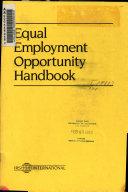 Equal employment opportunity handbook
