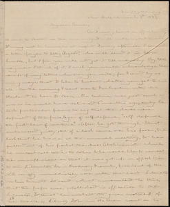 Letter from Deborah Weston, New Bedford, [Mass.], to Anne Warren Weston, Sunday morning, March 17th, 1839