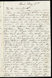 Letter to] My dear kind friends [manuscript