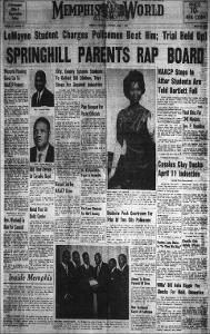 Memphis World, 1967 April 1st