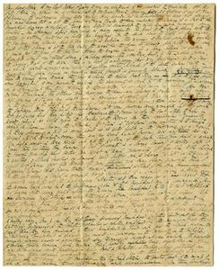 Letter from Thomas Falconer to John David Falconer, December [January] 5, 1841 Thomas Falconer Correspondence