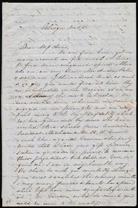 Letter from Ann Rebecca Bramhall, Glasgow, [Scotland], to Anne Warren Weston, Nov. 5 / [18]52