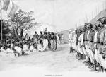 Couronnement du roi Agoliagbo