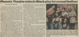 Phoenix Theatre selects Black play for annual festival