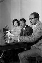 Jesse Hill, Jr. Press Conference, circa 1973