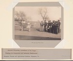 Races, Negroes: United States. Virginia. Hampton. Hampton Normal and Industrial School: Agencies Promoting Assimilation of the Negro: Training for Commercial and Industrial Employment. Hampton Normal and Agricultural Institute, Hampton, Va.: Studying the Cow.
