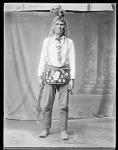 Chippewa man, Nah-ee-gance. Leech Lake, Minnesota 1904