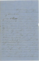 Letter from James A. Hall at Missionary Ridge, Tennessee, to his father, Bolling, in Alabama.