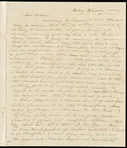 Letter from Caroline Weston, Roxbury, [Mass.], to Deborah Weston, Wednesday evening, [1842 March 30]