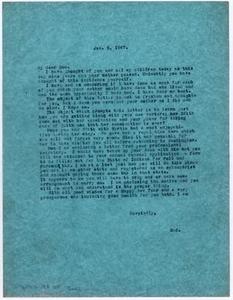[Letter from Dr. Edwin D. Moten to Don Moten, January 5, 1947]