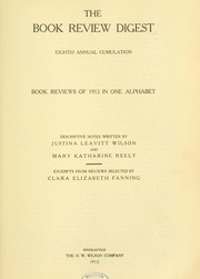 Book review digest, 1912 v.8