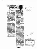 Alabama Incidents - Newspaper Clippings, Etc.