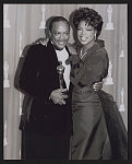 Oprah Winfrey and Quincy Jones