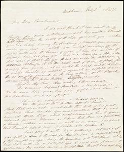 Letter from Edmund Quincy, Dedham, [Mass.], to Caroline Weston, July 2'd, 1847