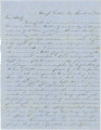 Letter from Alex K. Hall in camp at Dalton, Georgia, to his brother, Charlie, at a boarding school in Coosa County, Alabama.