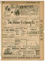 """A Railroad Ticket"" theater program, Bijou Opera House, Minneapolis, Minnesota"
