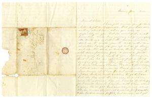[Letter from Maud C. Fentress to David W.Fentress - June 1860] The David W. Fentress Family Letters, 1856-1969