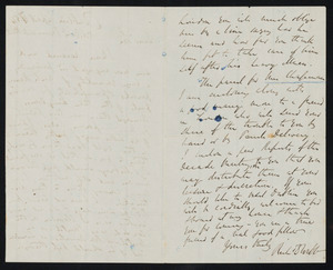 Letter from Richard D. Webb, Dublin, to W. C. B. Fifield, April 17, [18]54