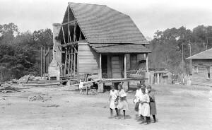 Old Building Mitchell County Training School (Rosenwald School)