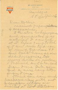 Letter from Charles Earle Duncan to Mrs. Charles R. Duncan Scott