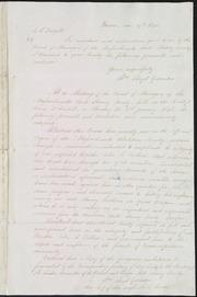 Letter to] J. H. Tredgold [manuscript