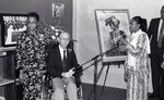 A.C. Bilbrew Library event, Los Angeles, 1989