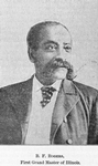 B. F. Rogers; First Grand Master of Illinois