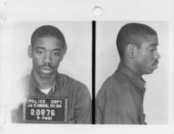 Thumbnail for Mississippi State Sovereignty Commission photograph of Matthew Walker, Jr. following his arrest for his participation in the Freedom Rides, Jackson, Mississippi, 1961 May 24